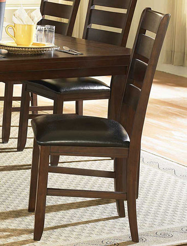 Homelegance 586S Ameillia Ladder Back Side Chair - Homelegance - Set of 2 - Peazz.com