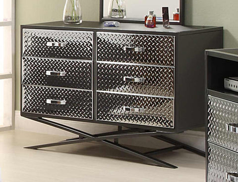 Homelegance 813-5 Spaced Out Dresser - Homelegance - Peazz.com
