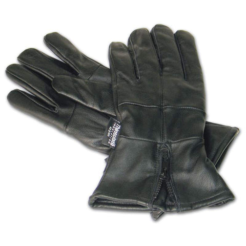 Diamond Plate Solid Genuine Leather Gloves - Peazz.com