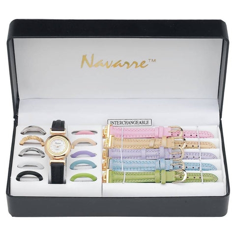 Navarre Ladies' Watch with Interchangeable Bands and Faces - Peazz.com