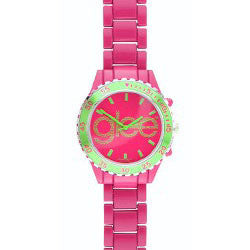 80-80110 Glee Logo Watch Standard Logo With Pink Band - Peazz.com
