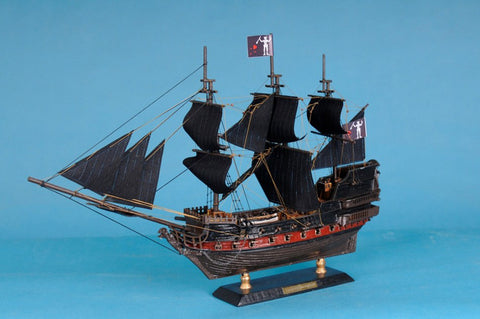 "Handcrafted Model Ships Caribbean-Pirate-LIM-15 Caribbean Pirate Ship Limited 15"" - Peazz.com"