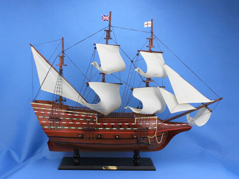 "Handcrafted Model Ships May30R Mayflower 30"" - Peazz.com"