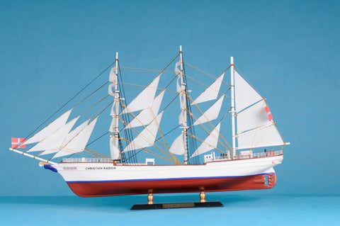 "Handcrafted Model Ships Radich-LIM-21 Christian Radich Limited 21"" - Peazz.com"