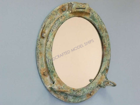 "RMS Titanic Shipwrecked Porthole Window 24"" - Peazz.com"