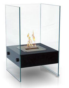 Anywhere Fireplace Indoor/Outdoor Fireplace-Hudson Model 90205 - Peazz.com