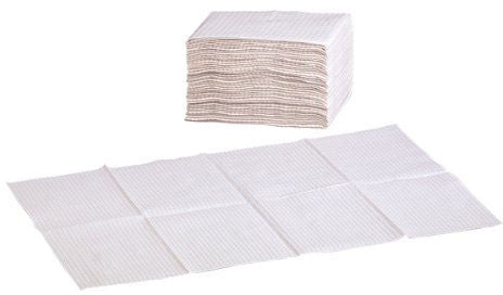 Foundations Sanitary Disposable Changing Station Liners - Non-Waterproof - White - 036-NWL - Peazz.com