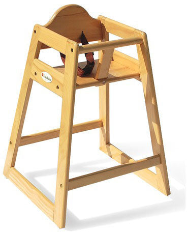 Foundations Wood High Chair - Natural - 4501049 - Peazz.com