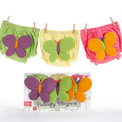 Butterfly Bloomers For Fluttering Bums (0-6 months) - Peazz.com