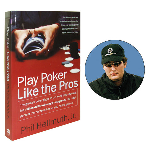 10-Phbook Play Poker Like The Pros Book By Phil Hellmuth - Peazz.com