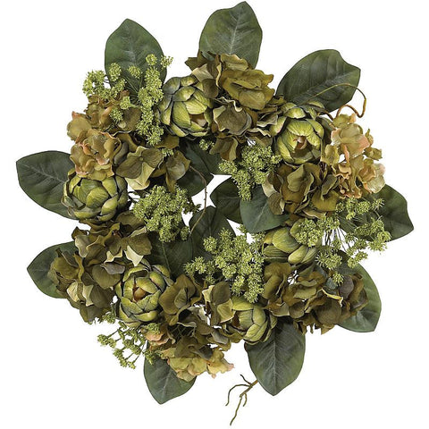 "18"" Artichoke Wreath - Peazz.com"