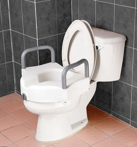 Harvy Raised Toilet Seat - With Arms
