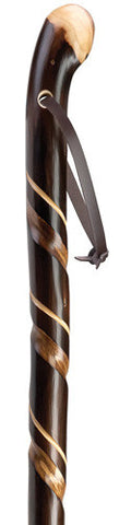 Harvy Natural Chestnut Root Walking Stick - Peazz.com