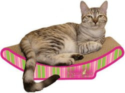 Imperial Cat Shape Scratch 'n Shapes Cozy Curl Scratcher - Peazz.com