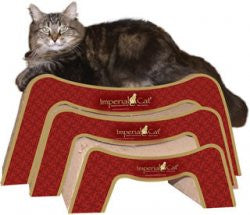 Imperial Cat Scratch n Snooze Cat Scratcher Couch - Peazz.com