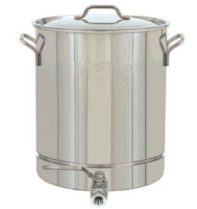 Bayou Classic 16 Gallon Stainless Steel Stockpot With Spigot - Peazz.com