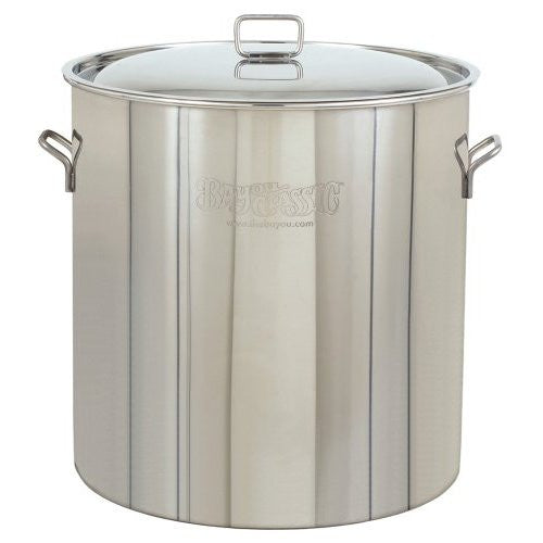 Bayou Classic Pots With Vented Lid 82 Quart Stainless Steel Stock Pot