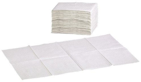 Foundations Sanitary Disposable Changing Station Liners - Waterproof - White - 036-LCR - Peazz.com