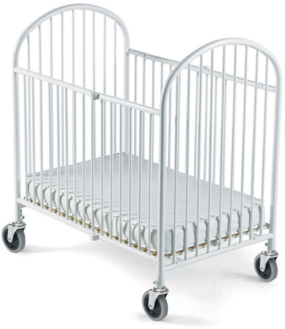 Foundations Full-Size Pinnacle™ Folding Crib (Mattress Not Included) - White - 1311097 - Peazz.com