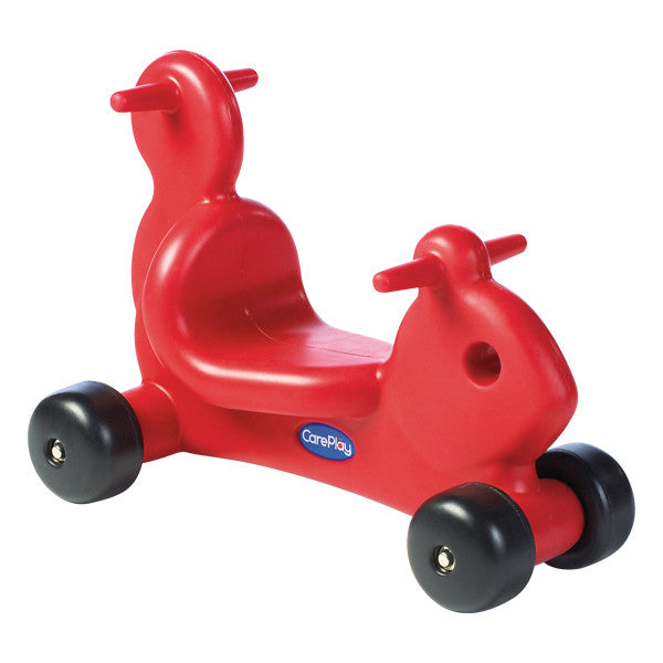 Careplay Squirrel Ride-on Walker - Red