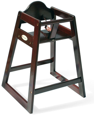 Foundations Wood High Chair - Antique Cherry - 4501859 - Peazz.com