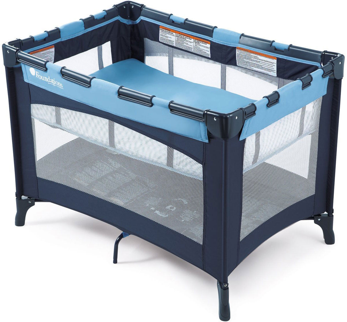 Foundations Celebrity™ Portable Crib with Bassinet - Regatta - 50-BS-N1