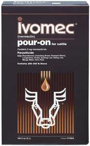 Ivomec Pour-On for Cattle Size - 1 Liter (67651) - Peazz.com