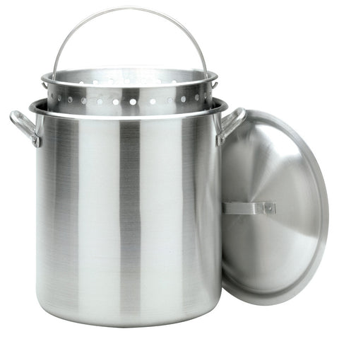 Bayou Classic 120 Quart Stock Pot With Lid And Basket - Peazz.com