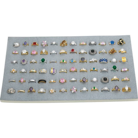 72pc Ring Display Unit - Peazz.com