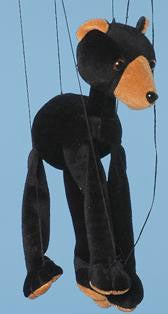 "16"" Bear Marionette Small - Peazz.com"