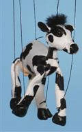 "16"" Cow Marionette Small - Peazz.com"