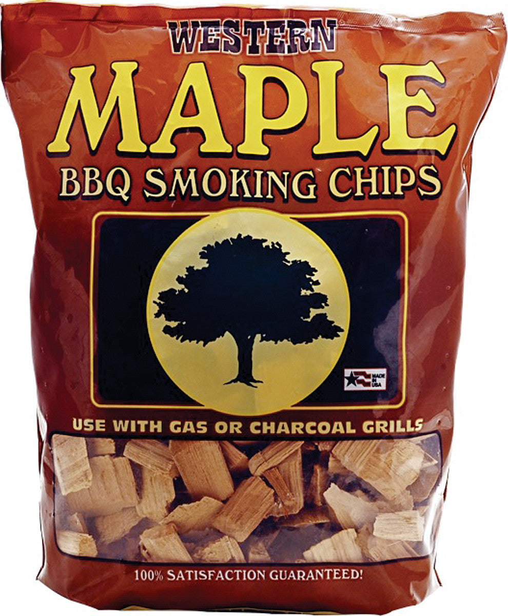 Bayou Classic Western Maple Smoking Chips - 12 Pound Bag