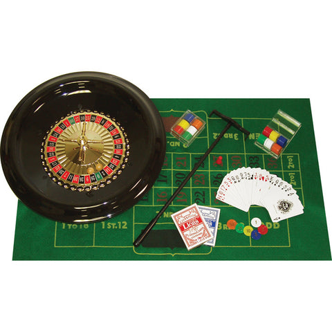 16 inch Deluxe Roulette Set with Accessories - Peazz.com