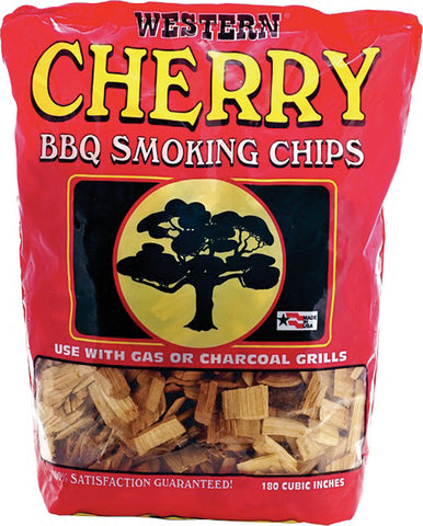 Bayou Classic Western Cherry Smoking Chips - 12 Pound Bag - Peazz.com