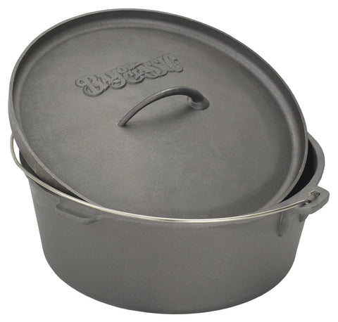 Bayou Classic 4 Quart Cast Iron Dutch Oven - Peazz.com