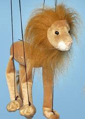 "16"" Lion Marionette Small - Peazz.com"