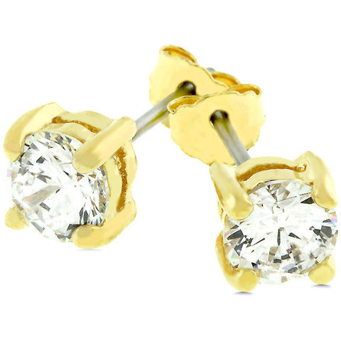 5mm Stud Earrings - Peazz.com