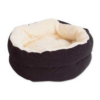 "Puffy Kitty Nest Assorted Solids 15"" - Peazz.com"