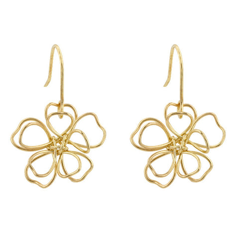 14k Gold Peace Flower - Peazz.com