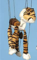 "16"" Tiger Marionette Small - Peazz.com"