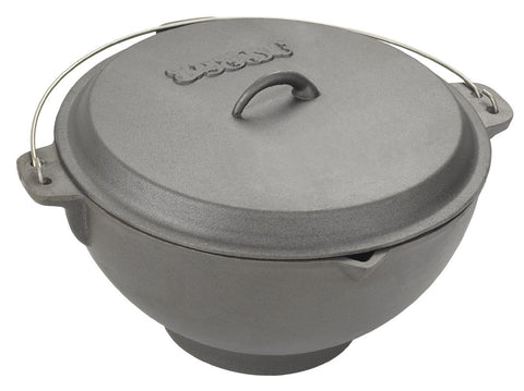 Bayou Classic 2.75 Gallon Jambalaya Pot With Domed Lid - Peazz.com