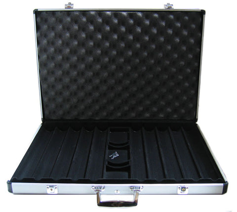 1000 Piece Aluminum Poker Chip Case - Peazz.com