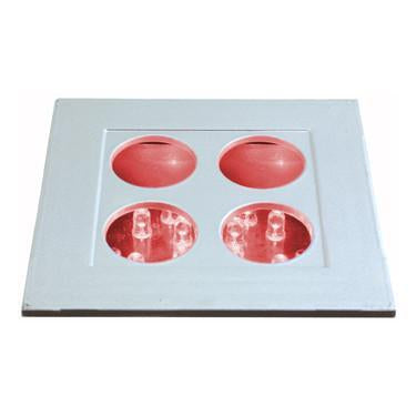 Jesco Lighting HG-RL01C-12V-Y LED Recessed Wall Aisle and Step Lights - Peazz.com