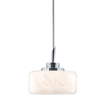 Jesco Lighting QAP229-WF/SN QAP229-ELAINE Quick Adapt-Low Voltage Pendant - Peazz.com