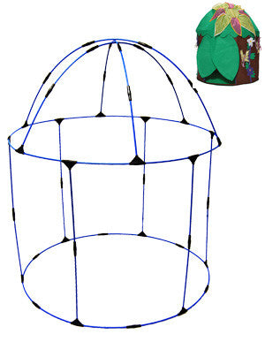 Bazoongi  RP-WFH Woodland Fairy Hut Replacement Poles - Peazz.com
