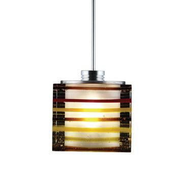 Jesco Lighting QAP701-AM/SN Quick adapt low voltage pendants-Qubert-Phuzed / Boiled Cube - Peazz.com