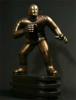 Bowen Designs Bd000897 Iron Man Faux Bronze Statue Original Exclusive