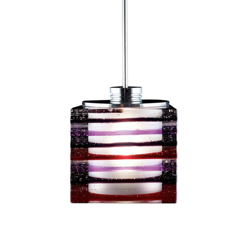 Jesco Lighting QAP701-PU/CH Quick adapt low voltage pendants-Qubert-Phuzed / Boiled Cube - Peazz.com