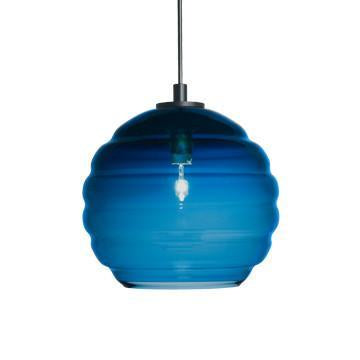 Jesco Lighting QAP753-TE/SN Quick adapt low voltage pendants-Beehave Large-Hand-blown - Peazz.com