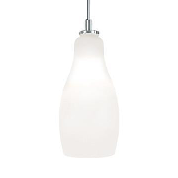 Jesco Lighting QAP771-WH/SN Quick adapt low voltage pendants-Bert-Hand-blown - Peazz.com